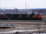 CN 406 at Gordon yard